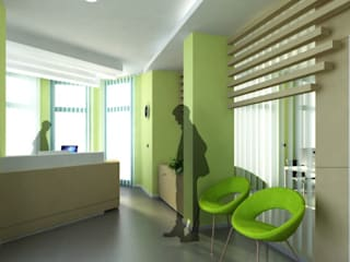 Modern offices & stores by Albini Architettura Modern