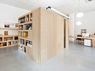 Office Dones del 36 ZEST Architecture Modern Study Room and Home Office