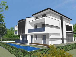 House M+G:  in stile  di Franzoni Studio