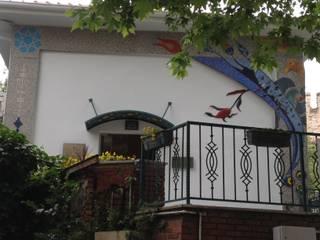 Mozaik Sanat Evi Paredes y pisos de estilo clásico