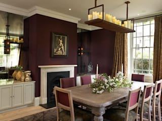 Dining room by Concept Interior Design & Decoration Ltd, Eclectic