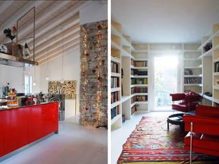 Casa privata a Valdobbiadene (TV): Case in stile  di PAOLA REBELLATO ARCHITETTO