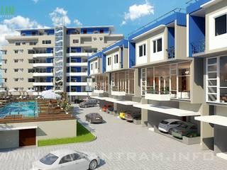 3D Hotel & Resort Exterior Design Studio:   von yantramstudio