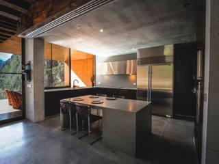 Narigua House P+0 Arquitectura 現代廚房設計點子、靈感&圖片
