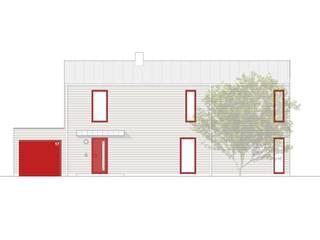 HOLZHAUS von Architekturbüro Chylek Minimalistisch
