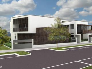 House 829 di Franzoni Studio Minimalista