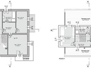 Ampliamento abitazione privata:  in stile  di Mog Architetti