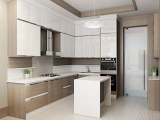 modern Kitchen by Студия Искандарова