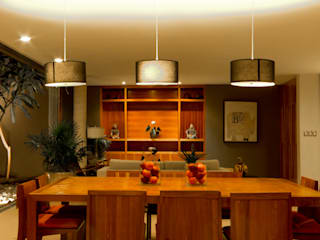 Montebello 332: Comedores de estilo moderno por Jorge Bolio Arquitectura