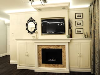 Salas de estilo clásico de AgiDesign Clásico