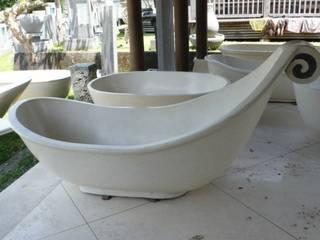 bañera de diseño: Baños de estilo  de Ale debali study