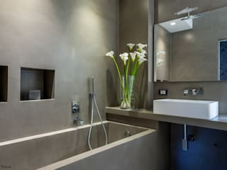 zero6studio - Studio Associato di Architettura Modern style bathrooms