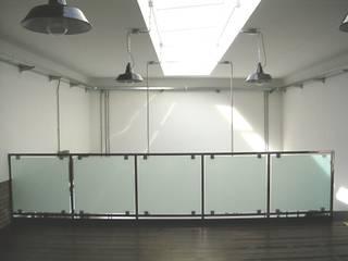 Loft: Soggiorno in stile in stile Industriale di Arch. Dario Nespoli