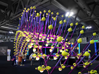Sea Urchin Eclectic style exhibition centres by Giancarlo Zema Design Group Eclectic