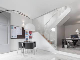 The Three Cusps Chalet Tiago do Vale Arquitectos Ausgefallene Arbeitszimmer