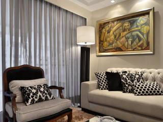 Salas de estilo moderno de Tamara Rodriguez Aquitetura Moderno