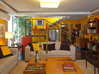 "Apartamento Jardim Botânico:  {:asian=>""asiático"", :classic=>""clássico"", :colonial=>""colonial"", :country=>""campestre"", :eclectic=>""eclético"", :industrial=>""industrial"", :mediterranean=>""Mediterrâneo"", :minimalist=>""minimalista"", :modern=>""moderno"", :rustic=>""rústico"", :scandinavian=>""escandinavo"", :tropical=>""tropical""} por Chicô Gouvêa - Arquitetura,"