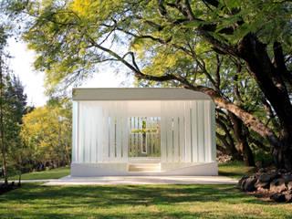 La Estancia Chapel Habitaciones de BNKR Arquitectura