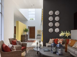 casa Limonero: Salas de estilo  por MARIANGEL COGHLAN