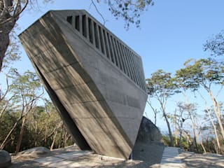 Sunset Chapel BNKR Arquitectura Habitaciones
