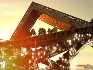 Aca Bay Bridge by BNKR Arquitectura Modern