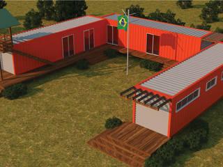 Container House Casas modernas por Floema Arquitetura Moderno