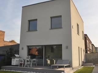 Dom O&B Nowoczesne domy od Pracownia Projektowa Ola Fredowicz Nowoczesny