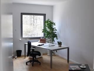Dom D&J Nowoczesne domowe biuro i gabinet od Pracownia Projektowa Ola Fredowicz Nowoczesny