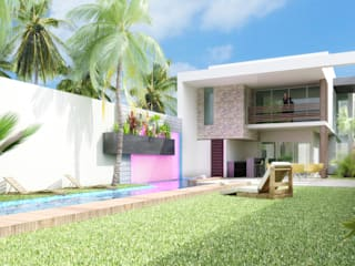 Casas modernas de NGestudio Moderno