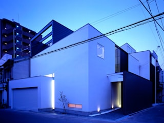Casas de estilo  por ON ARCHITECTS / オン・アーキテクツ