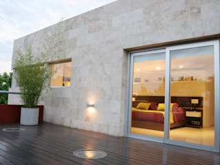 ESTUDIO GEYA Moderner Balkon, Veranda & Terrasse
