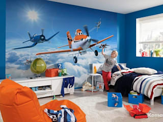 Wall mural wallpapers for kids: modern  by Allwallpapers, Modern
