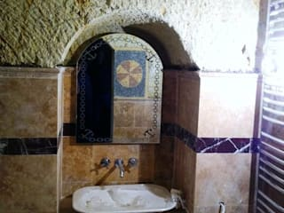 클래식스타일 욕실 by özgarip cam ltd şti 클래식