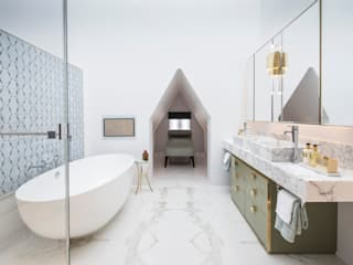 Master Bathroom Roselind Wilson Design Baños de estilo clásico