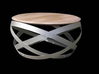 Douelledereve / Eco design construction Living roomSide tables & trays
