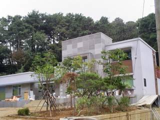 진천 주택: 건축사사무소 이레EL의 현대 ,모던