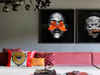 Living room by STUDIO GUILHERME TORRES