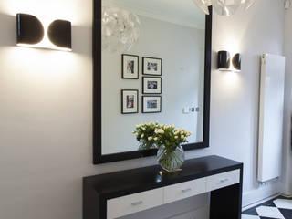 Holland Park: Notting Hill Roselind Wilson Design Pasillos, vestíbulos y escaleras modernos