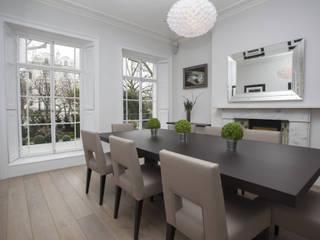 Holland Park: Notting Hill Roselind Wilson Design Comedores de estilo moderno