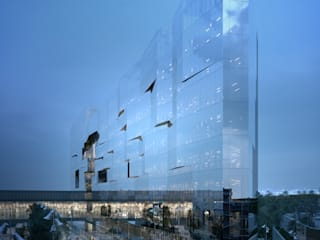 Office buildings by 5+1AA alfonso femia gianluca peluffo