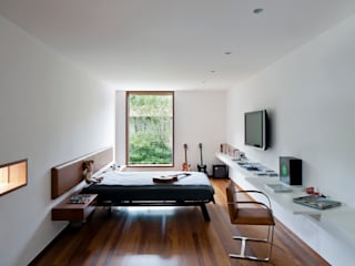 Quartos modernos por Pascali Semerdjian Arquitetos Moderno