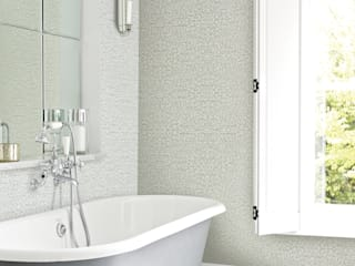 Bakari willow Modern style bathrooms by Prestigious Textiles Modern