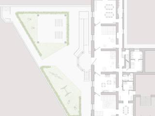 pianta del progetto:  in stile  di Studio Associato 3813