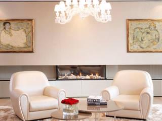 Palace Court: Bayswater Roselind Wilson Design Livings de estilo moderno
