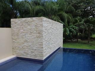 Piscinas de estilo minimalista de axg arquitectos Minimalista
