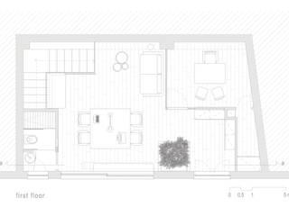 Zahara Architecture Biolab Studio minimalista di ZAHARA architecture biolab Minimalista