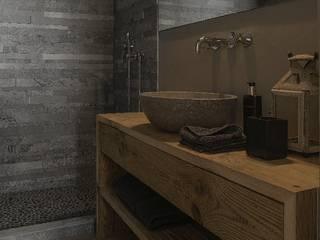 Uno chalet a Verbier:  in stile  di StudioDodici Architettura,  Design,  Interior