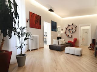 Living room by architetto Marta Silvia Mia Pasquini, Modern