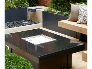 Knightsbridge Roof Terrace - Aralia Garden Design by Aralia Modern Stone