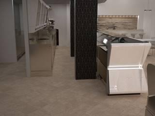 particolare arredamento retrobanco: Negozi & Locali Commerciali in stile  di Designer1995  Live Work Design